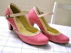 Adventures in Refashioning: A shoe refashion