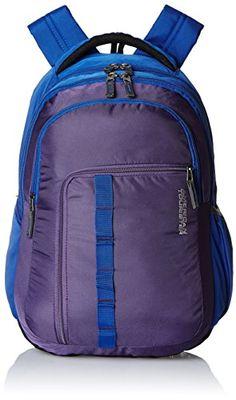 Buy #9: American Tourister 27 Lts Comet Purple Laptop Backpack (Comet 03_8901836135305)