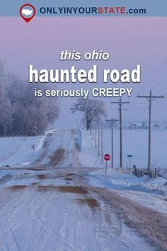 This haunted road has been terrifying local kids for a century and drawing ghost hunters and paranormal investigators from all over the country for decades. Abandoned Ohio, Abandoned Places, Abandoned Castles, Abandoned Mansions, Most Haunted Places, Spooky Places, Scary Ghost Stories, Scary Ghost Pictures, Ghost Photos