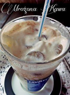 Moja kulinarna przygoda: Mrożona Kawa w lodowych kostkach z nutą pomarańczy