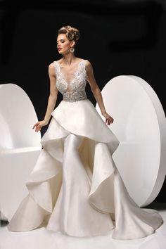 omfg LOOKATIT Simone Carvalli Bridal Style 90282A