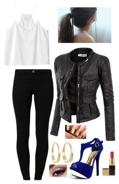 """Katherine Pierce Inspired Outfit"" by daniellakresovic ❤ liked on Polyvore featuring Monki, River Island, Doublju, Lancôme, Qupid, Tom Ford and Lauren Ralph Lauren"