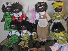 1000+ images about Gollywogs on Pinterest Knitted dolls ...
