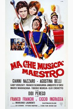 Ma che musica maestro Movie Poster http://ift.tt/2E88Zck