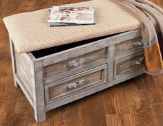 Maison Maison - Rustic & Asian Furniture & Accents on Joss and Main  Idea to do with old dresser drawer.