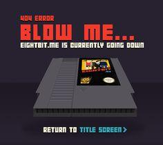 Eight Bit World 404