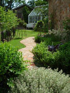 A new cottage path garden by london garden designer claudia de yong