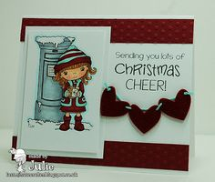 The Last Minute Crafter: Christmas Card - like the layout
