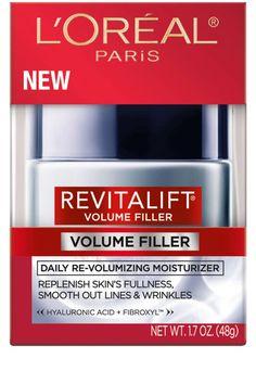 L'Oréal Paris Revitalift Volume Filler Daily Re-Volumizing Moisturizer, $20, target.com.