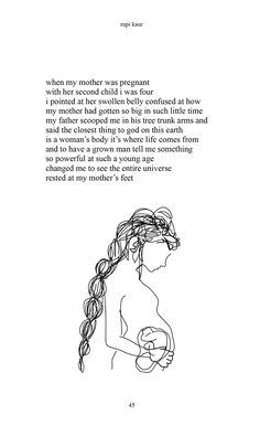 Rupi Kaur Motherhood