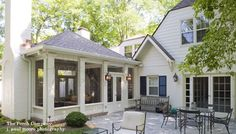 I LOVE this one!! And the patio feels so cozy and private with the screened porch on the side. GORGEOUS!!