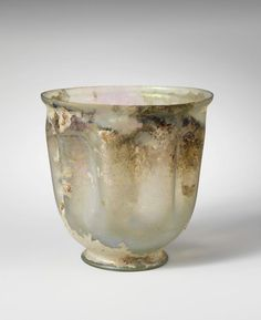 Glass cup. Period: Imperial. Date: mid-1st–early 2nd century A.D. Culture: Roman.