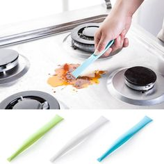 18x2.7x1 cm Keuken Badkamer Kachel Vuil Decontaminatie Schraper Opener keuken gereedschap schoonmaken accessoires #303