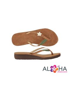 a13e644f1 Scott Women s Pualani Wedge Beach Sandals. Vintage Hawaii ...