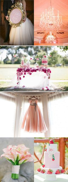 #Pink wedding inspiration     -   http://vacationtravelogue.com  Guaranteed Best price and availability  on Hotels
