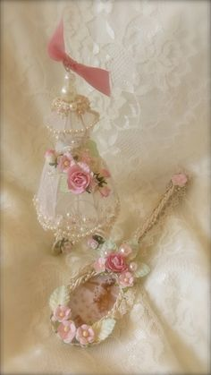 Martica's Gallery: Dress Form Ornament & Altered Spoon