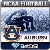 Auburn Tigers College Football Betting Lines 2014 National Championship Odds:  20-1✌ http://www.betdsi.com/events/sports/football/ncaa-football-betting/auburn-tigers