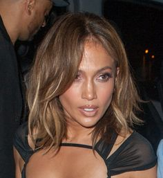 The lob has been one of the most sought-after haircuts this season, being rocked by major celebs like Jennifer Lopez and Jessica Alba. Although the lob can be styled many ways, one of the most popular ways to wear this look is by adding some texture to it. You can achieve this look by lightly curling your ends, and using a volumizing spray to give your hair the right amount of hold and body.