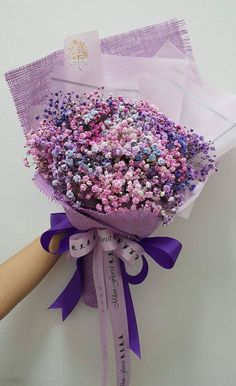Seeing beautiful flowers makes you feel good - Page 8 of 54 - Lialip - Wedding bouquet - Boquette Flowers, Luxury Flowers, Flowers Nature, Purple Flowers, Dried Flowers, Beautiful Flowers, Wedding Flowers, Flowers Garden, Blooming Flowers