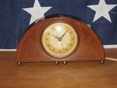Vintage Herman Miller Mantle Clock with Alarm