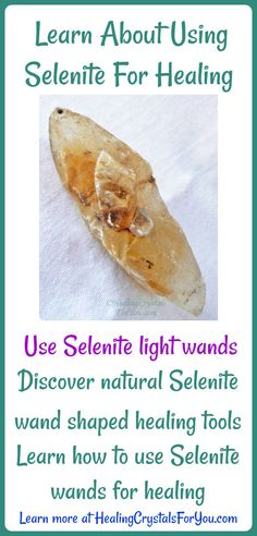 Learn About Using Selenite For Healing Use Selenite light wands and naturally wand shaped healing tools. Discover how to use Selenite wands for healing