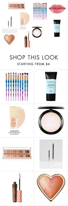 """""""Untitled #87"""" by kiki-rollins on Polyvore featuring beauty, Smashbox, MAC Cosmetics, Charlotte Tilbury, Ciaté, Benefit and Too Faced Cosmetics"""