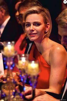 La princesse Charlène de Monaco - 67e Gala de la Croix-Rouge Monégasque (Bal de la Croix-Rouge) à Monaco, le 25 juillet 2015
