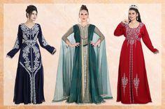 Feminine, fashionable and fabulous! ❤️  Log on and shop away to your heart's desire. Kaftan Abaya, Modest Fashion, Ethnic, Feminine, Formal Dresses, Lady, Heart, Womens Fashion, How To Wear