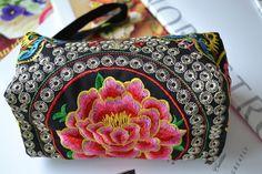 US Seller-Handmade makeup handbag in Clothing, Shoes & Accessories, Women's Handbags & Bags, Handbags & Purses | eBay