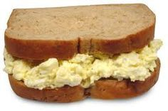 Weight Watchers SmartPoints Recipes, Egg Salad Recipe Adapted For The Weight Watchers Diet Plan. Weight Watchers Recipe For Egg Salad And Only 3 SmartPoints Per Serving. Weight Watchers Lunches, Plats Weight Watchers, Weight Watchers Diet, Weight Watcher Dinners, Weight Watchers Points, No Calorie Foods, Low Calorie Recipes, Ww Recipes, Light Recipes