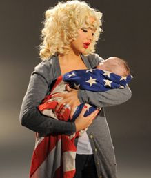 I think this might be Christina Aguilera, and I really like it! Super cute for a new military mom! Children Photography, Newborn Photography, Little Man Style, Military Mom, I Voted, Christina Aguilera, Baby Pictures, Baby Love, Picture Ideas