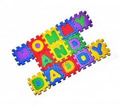 Mommy and Daddy - Word Blocks