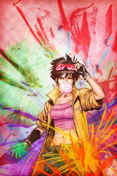 marvel comics: Jubilation Lee Actually, my name is Jubilee! 'Cause, with me, every day's a celebration! Comic Movies, Comic Book Characters, Marvel Characters, Comic Character, Comic Books Art, Comic Art, Marvel Women, Marvel Girls, Comics Girls