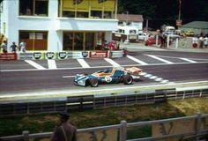 Patrick Depailler - Elf 2 (Alpine A367) Ford BDA/Hart - Elf Coombs Racing - XXXI Grand Prix de Rouen-les-Essarts - 1973 European Championship for F2 Drivers, round 9