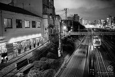 Japan Tokyo ikebukuro Train nightshot photography