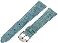 Save $158.00 on Swiss Watch International 21 MM Sky Blue Genuine Lizard Strap 21LIZ25M; only $42.00