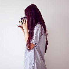 plum hair | plum hair | Tumblr