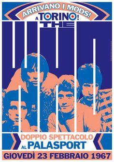THE WHO 23 February 1967 Turin Italy Palasport by tarlotoys, €10.00