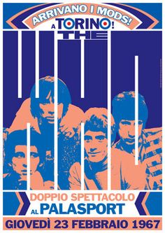 THE WHO  23 February 1967 Turin Italy Palasport  by tarlotoys, €10.00