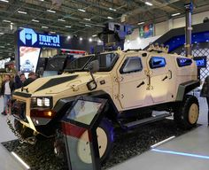 "Turkey Defence İndustry - Nurol Makina ""NMS 4x4"" Light Tactical Vehicle."