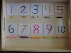 Math Activities for Preschoolers: Wikki Stick Arithmetic from Preschool Universe