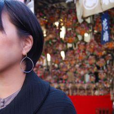 earrings by La Jara Jewellery
