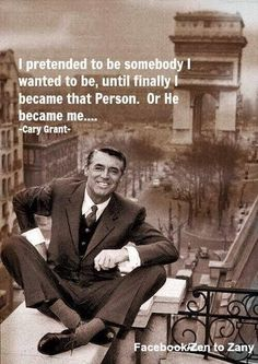 Cary Grant Law of Attraction quote