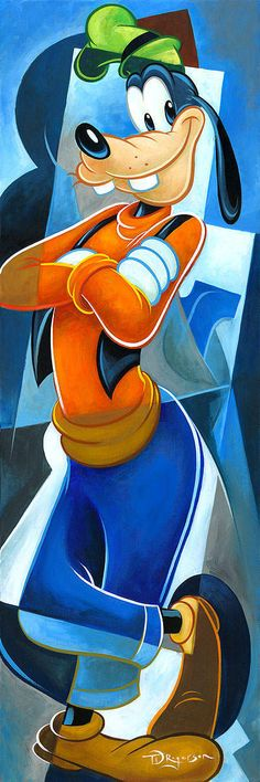 Disney Fine Art | Always Trust a Goof | Tim Rogerson
