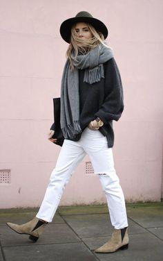 Hvide bukser