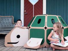 De drôles de cabanes pour chambres d'enfants