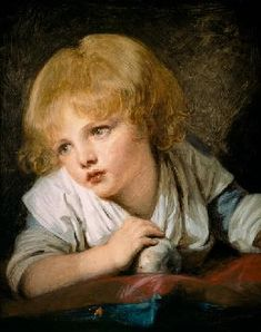 Jean Baptiste Greuze - Child with an Apple