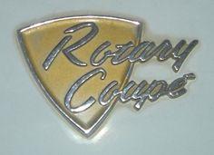 Mazda Rotary Coupe emblem