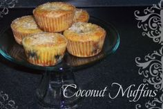 Coconut muffins- gluten-free, sugar-free (candida diet)  3 eggs  2 TBSP Organic Cold Pressed Virgin Coconut Oil (melted)  1/4 cup Agave Syrup or other acceptable sweetener  1/4 tsp. sea salt  1/4 cup sifted coconut flour  1/4 tsp aluminum-free baking powder  3 TBSP dried shredded unsweetened coconut
