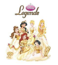 Disney Princess - Legends - Disney Princess Fan Art (17556632) - Fanpop